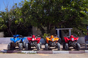 Quad bikes for hire, Oualidia